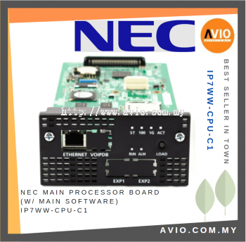 NEC IP7WW-CPU-C1 SL2100 Main Processor Board W Main Software