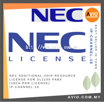 IP-CHANNEL-16 IP Additional VOIP Resource License