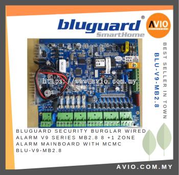 Bluguard V9 BLU-V9-MB2.8 9 zone Alarm Mainboard