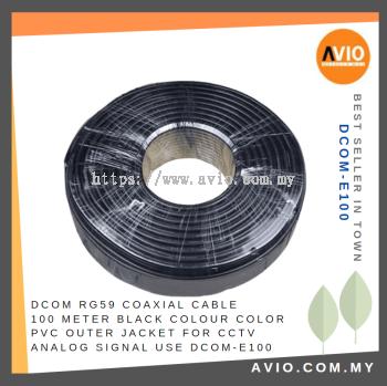 D-COM DCOM-E100 RG59 Coaxial Cable 100 meter