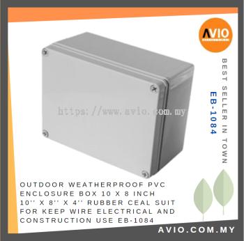 EB-1084 10'' X 8'' X 4'' PVC ENCLOSURE BOX