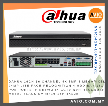 Dahua NVR5416-16P-4KS2E 16ch Channel CCTV Network Video Recorder ( NVR )