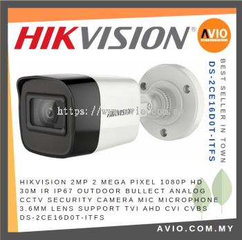 Hikvision DS-2CE16D0T-ITFS 2MP 1080P HD - TVI CCTV Camera