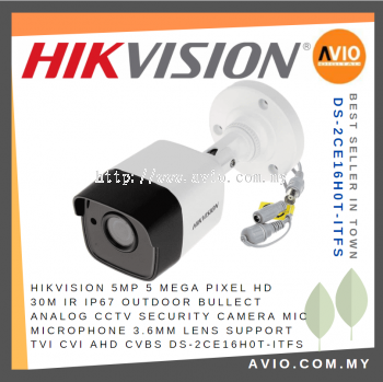 Hikvision DS-2CE16H0T-ITFS 5MP 30m Bullet CCTV Camera