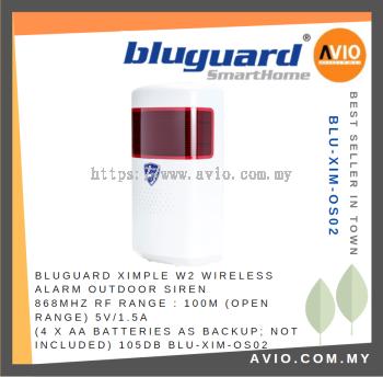 Bluguard BLU-XIM-OS02 Wireless Outdoor Siren