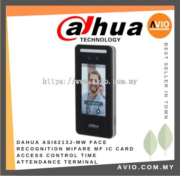 Dahua ASI6213J-MW Face Recognition Access Control & Time Attendance Terminal