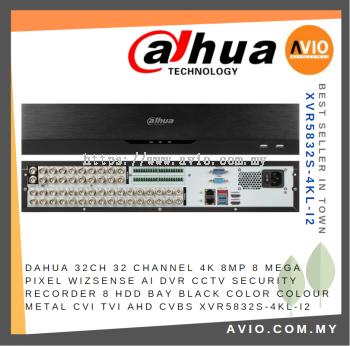 Dahua XVR5832S-4KL-I2 32 Channel Pentabrid 4K 2U WizSense AI DVR Max 8 HHD