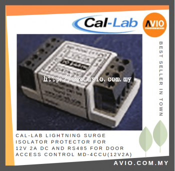CAL-LAB MD-4Ccu(12V2A) Lightning Isolator Protector for 12VDC with RS485 suitable for Access Control