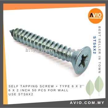 STS6X2 6 X 2���� Self Tapping Screw (50 PCS)