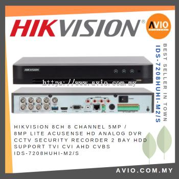 Hikvision iDS-7208HUHI-M2/S 8 Ch 5MP / 8MP Lite CCTV Recorder