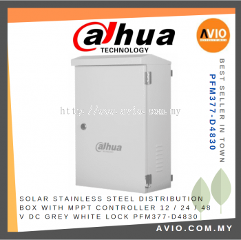 DAHUA PFM377-D4830 Special Stainless Steel Distribution Box + MPPT Controller
