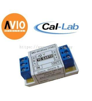 CAL-LAB DCJ-cu(12V1A) DC jack lightning isolator Protector for 12V 1A
