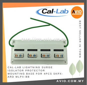 CAL-LAB MLPX-BB Mounting Base for 4 * SKPX