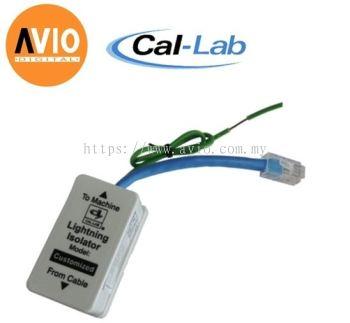 CAL-LAB SLAN-8CG LAN cable lightning isolator protector for 8-pin 1000BaseT