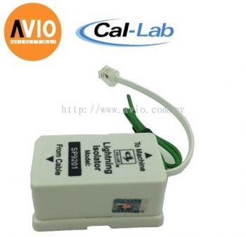 CAL-LAB SP9201-ARD Lightning isolator Protector for Telephone cable 4 - pins RJ11