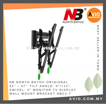 NB NBC2-T North Bayou TV Display Mount 32 to 47 inch Bracket