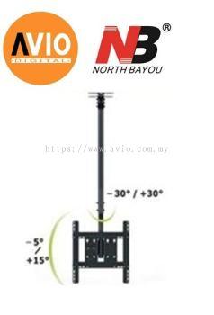 NB NBT560-15 Flat Panel TV Ceiling Mount Bracket 32 to 57 inch