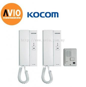 Kocom Korea KDP-602AD 1 to 2 Door Phone System ( Intercom )