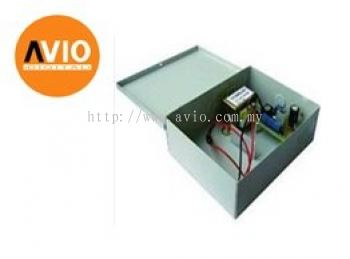 AVIO PSB007 12VDC 5A Door Access Power supply with battery charger in metal housing