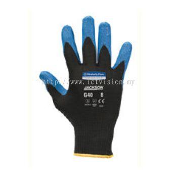 Kimberly Clark Kleenguard G40 Blue Nitrile Coated Gloves