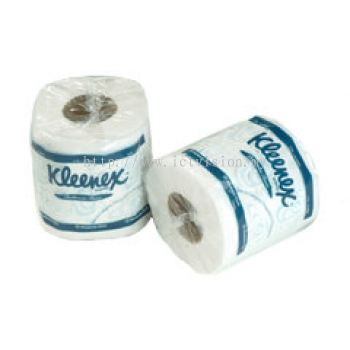 KLEENEX 2-Ply Small Roll Tissue (Single Wrapped)