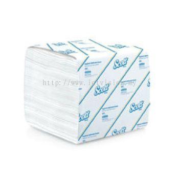 Kimberly Clark SCOTT Hygienic Bathroom Tissue 1 ply