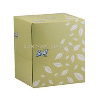 SCOTT 2-Ply Facial Tissue - Cube (90s)