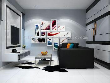 Johor bahru jb living room from uhome studio for Living room design johor bahru