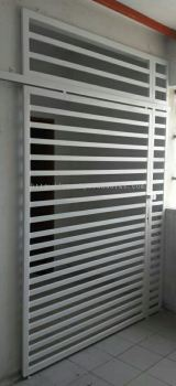 Mild Steel Sliding Door -M.s 1 1/2 �� 6/8 Hollow . Design 3 inchi & 2 inchi