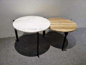 Marble Coffee Table Set
