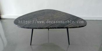 Leaf Shape Marble Coffee Table