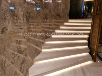 Marble Flooring (Staircase)
