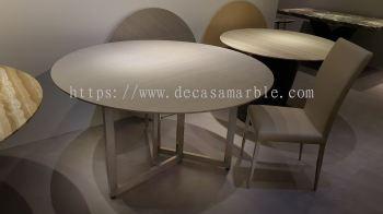 4 Seater Grey Marble Table (Cinderella) no coating