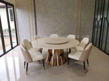White Luxury Marble Table - Sivec White