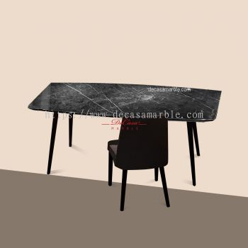 Black Marquina | Spain | 6 seaters | Table Only