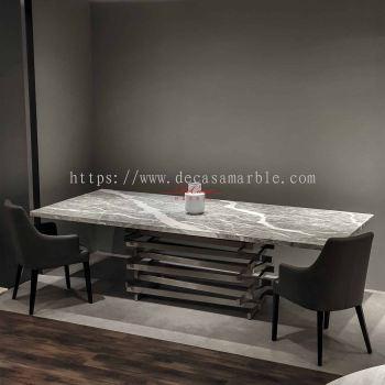 Grey Majestic Dining Table | Grigio Piemonte | 10 Seaters