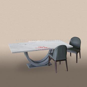 Sivec White   Greece   8 seaters   Dining Table only
