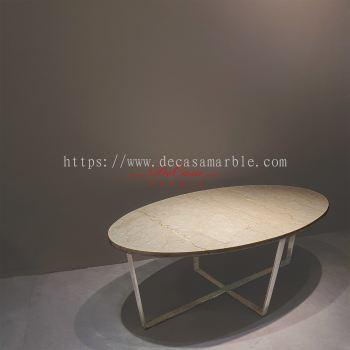 Marble Coffee Table | Botticino Classico| (non-coat) | Cash & Carry