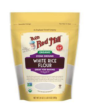 Selangor Organic White Rice Flour Flours, Protein and