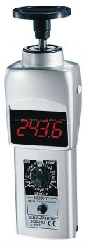Cole-Parmer Contact Tachometer with LED Display