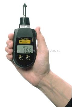 PLT-5000 Contact/Noncontact Laser Pocket Tachometer