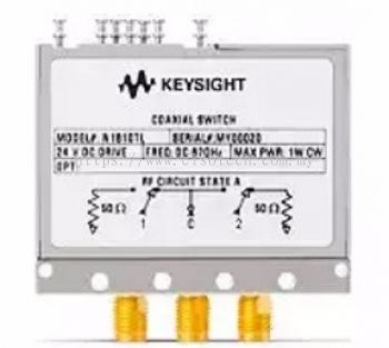 N1810TL Coaxial Switch, DC up to 67 GHz, SPDT