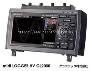 midi LOGGER HV GL2000