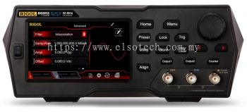 Rigol DG952 - Two Channel, 50 MHz Function / Arbitrary Waveform Generator