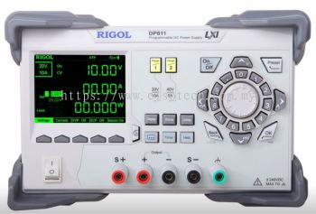 Rigol DP811 200 W Dual Range Single Output Power Supply