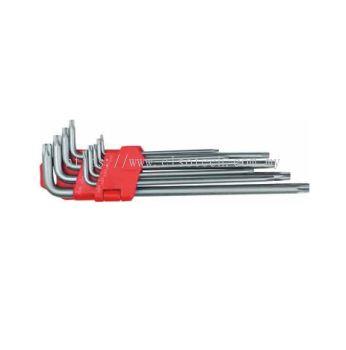 9Pc Torx L-Wrench Set TMWR52-73209T
