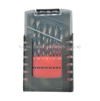 TMDR10-80119M - 19PC HSS BLACK /GOLDEN FINISH JOBBER DRILL SET - 1.0-10MM