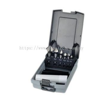 TMDR70-80107M - 7PC 90�� HSS 3 FLUTE COUNTERSINK SET - 6.3-20.5MM