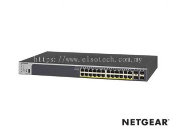 GS72UTP-200 - Netgear Prodafe 24 RJ45 Port Gigabit Full PoE+ Smart Switch