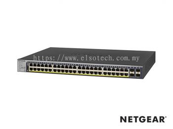 GS752TP-200 - Netgear Prosafe 48 RJ45 Port Gigabit Full PoE+ Smart Switch